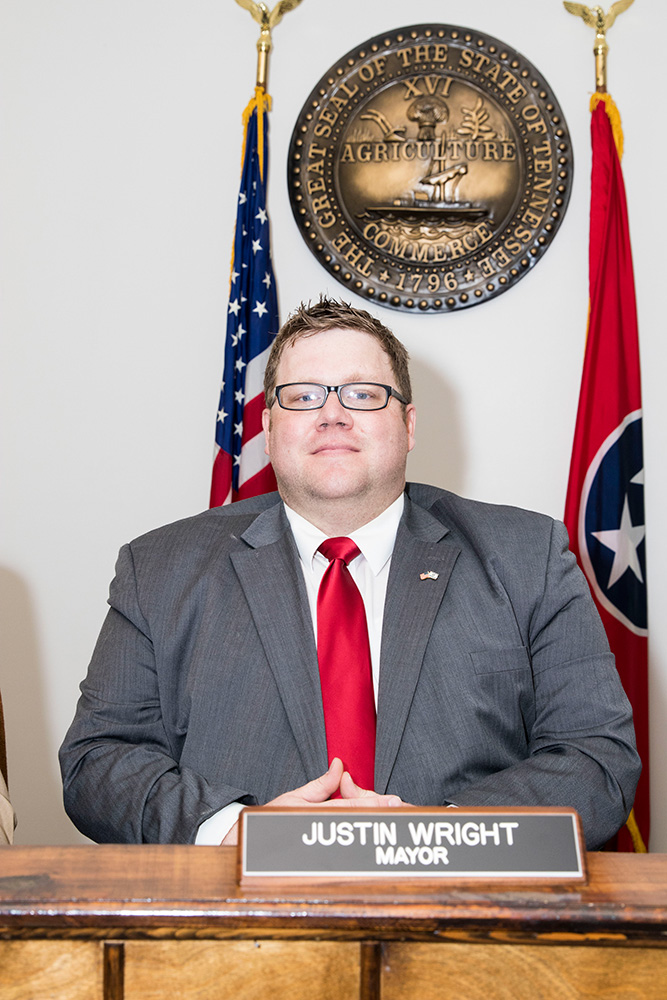 Mayor Justin Wright