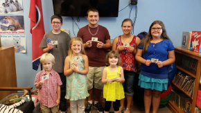 Summer Reading Prize Winners for 2016
